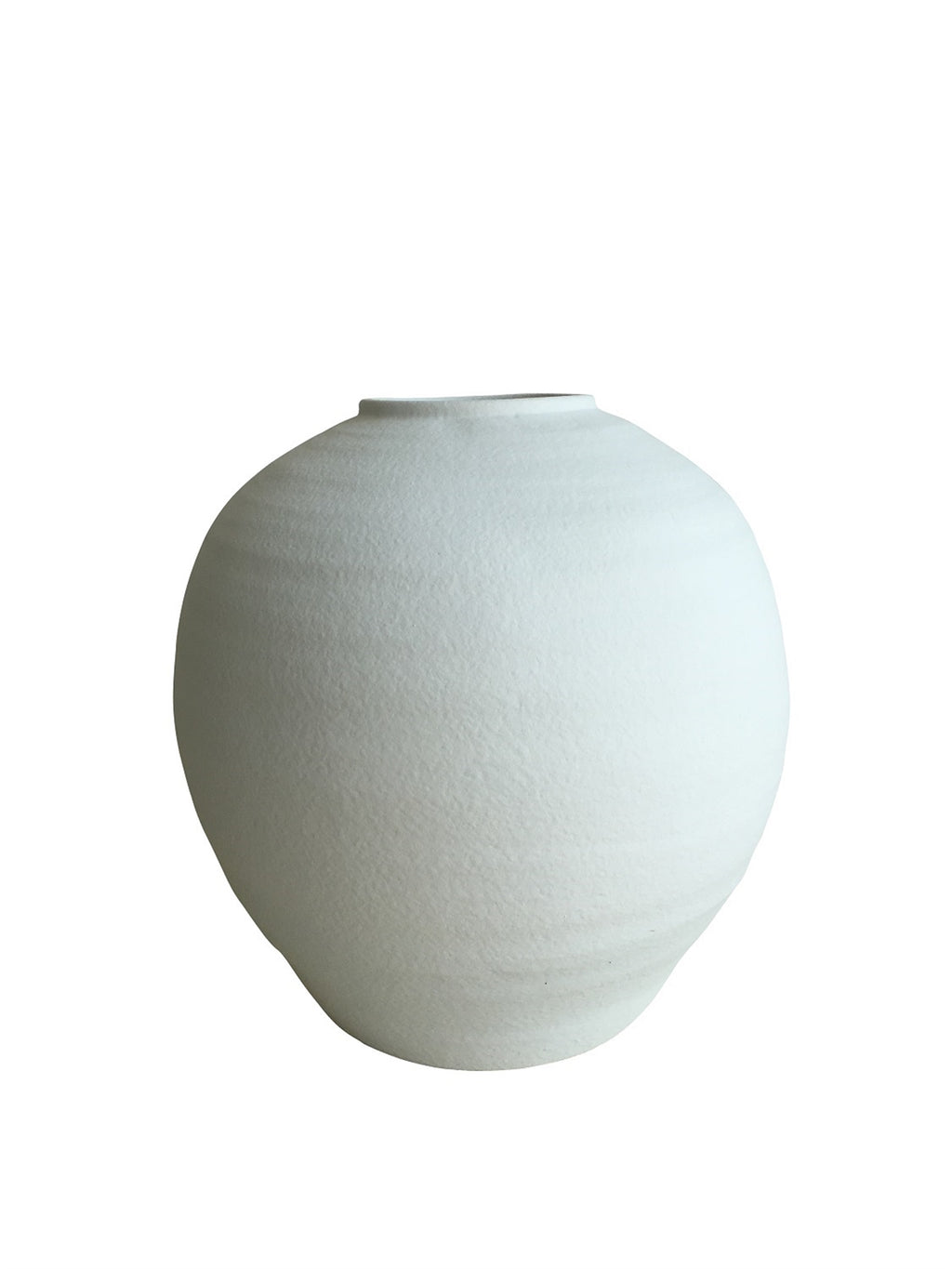 Ceramic Limpio Urn Vase in White - AboutRuby.com