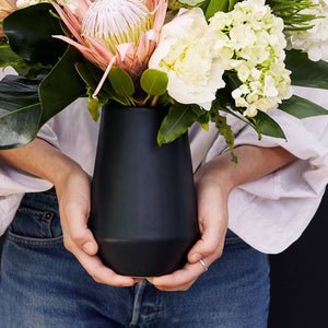 Satin Deco Vase - AboutRuby.com