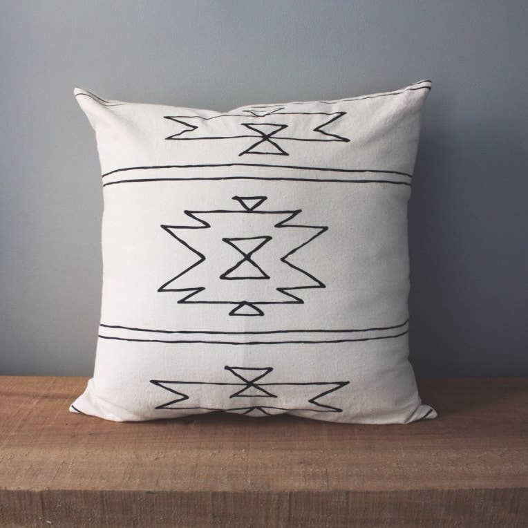 New Mexico | Organic Cotton Pillow - AboutRuby.com