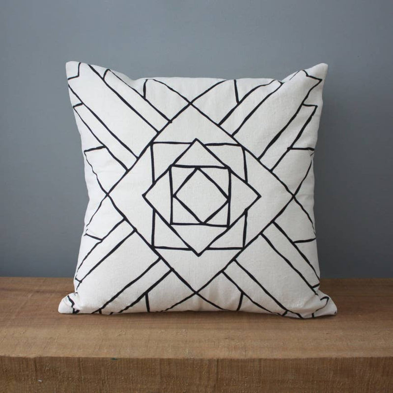 Colorado | Organic Cotton Pillow - AboutRuby.com