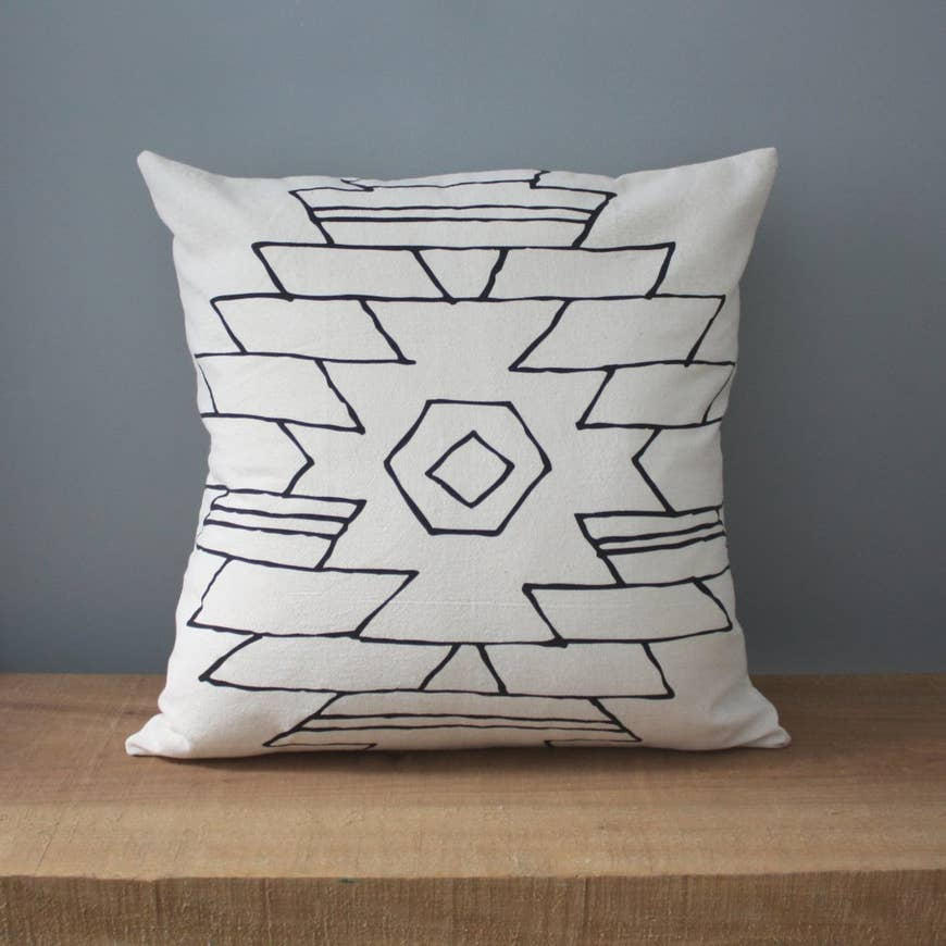 Arizona | Organic Cotton Pillow - AboutRuby.com