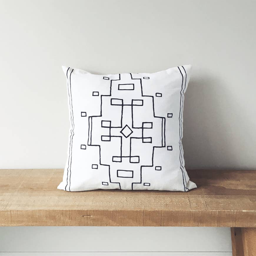 Nevada | Organic Cotton Pillow - AboutRuby.com