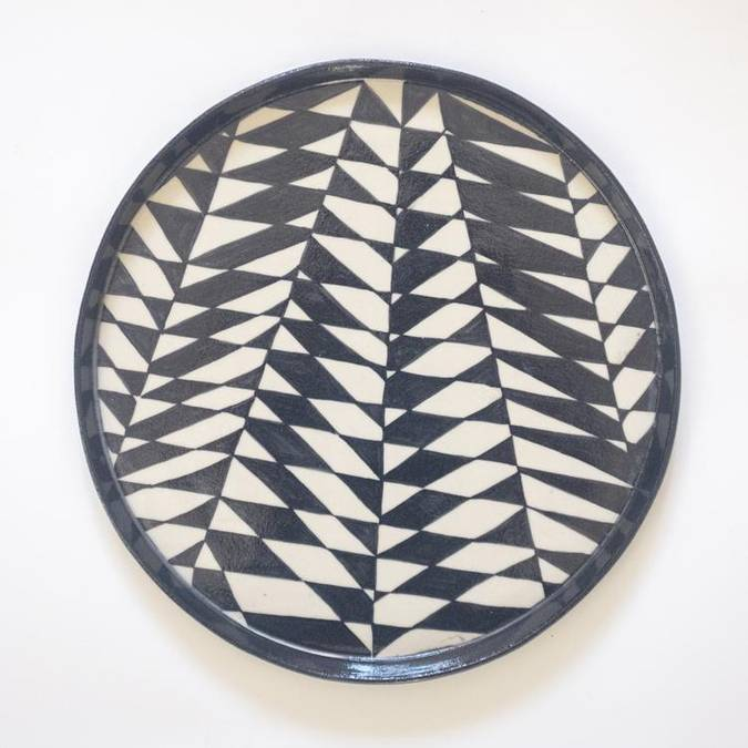 Black & White Platter - AboutRuby.com