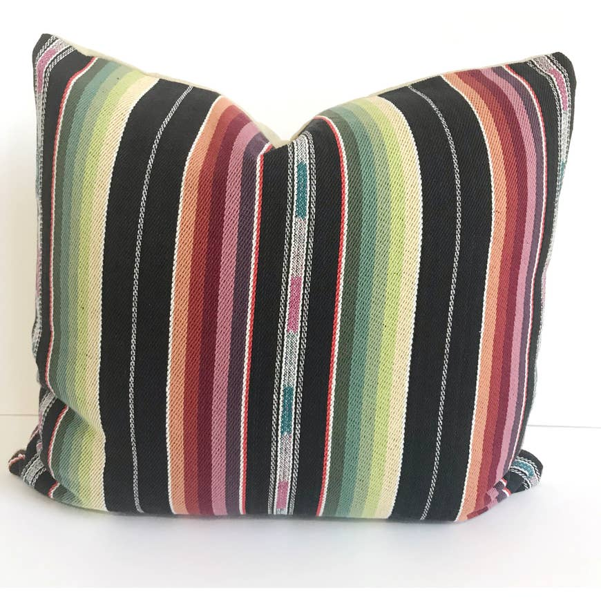 Black Southwestern Bohemian Pillow - AboutRuby.com