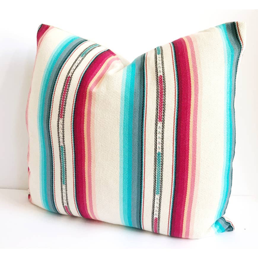 Cream Southwestern Bohemian Pillow - AboutRuby.com