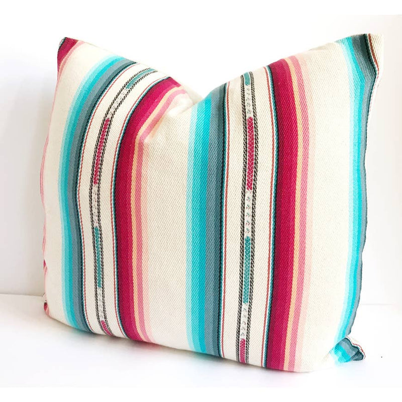 Cream Southwestern Bohemian Pillow