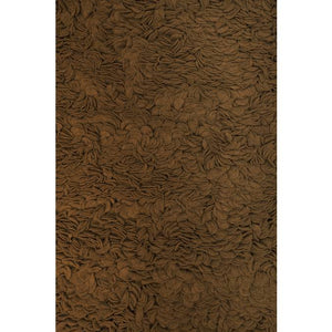 Tulip Rug in Chocolate or Ivory - AboutRuby.com