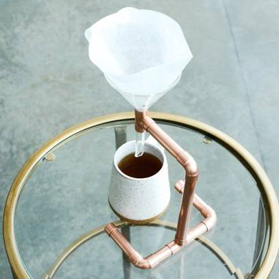 Copper Minimalist Coffee Pour-Over - AboutRuby.com