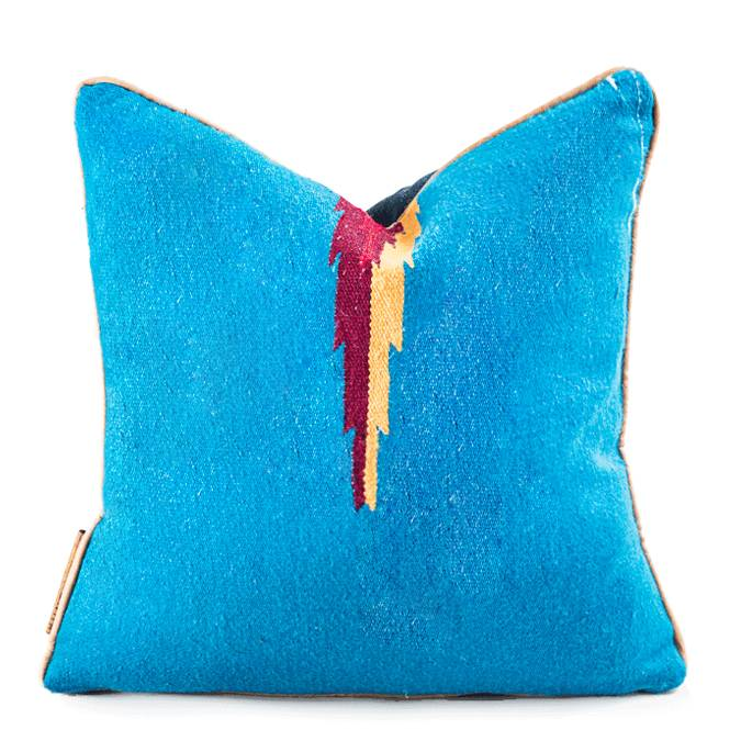 Modern Hacienda | Diamond Pillow - AboutRuby.com
