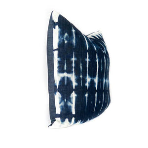 "Shibori ""Two"" Beach House Throw Pillow - 1 pc. - AboutRuby.com"