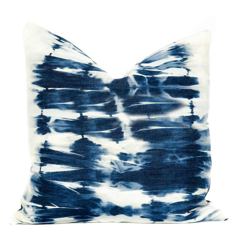 Shibori Accent Pillow