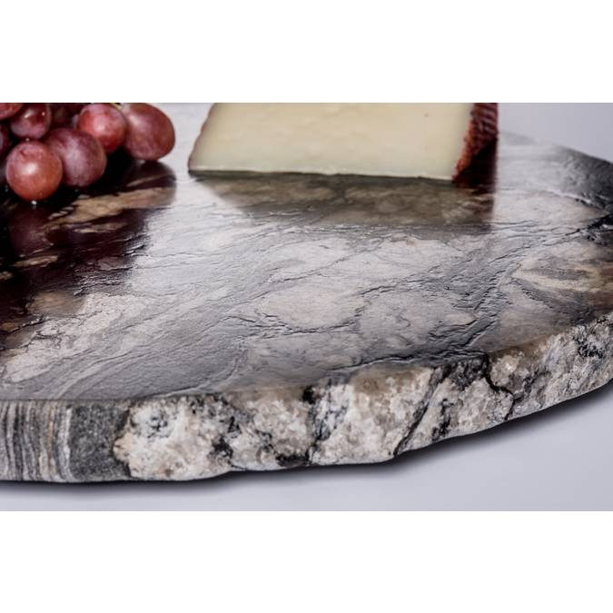 Large Chiseled Edge Lazy Susan - AboutRuby.com