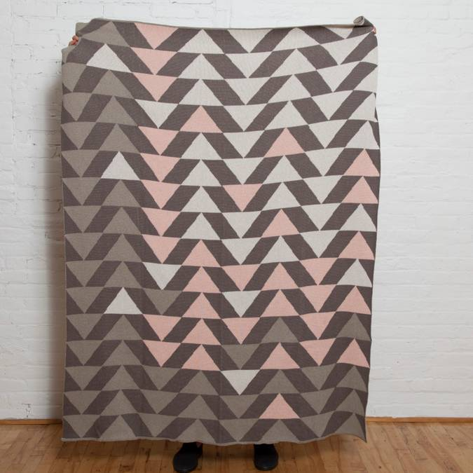 Up & Down Eco Throw - AboutRuby.com
