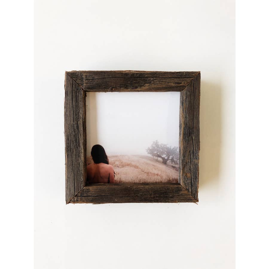 "4"" x 4"" Reclaimed Wood Gallery Frame - AboutRuby.com"
