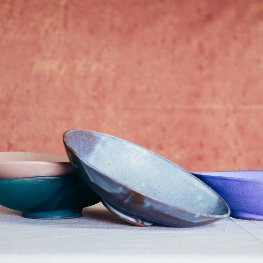 Footed Oval Server - AboutRuby.com