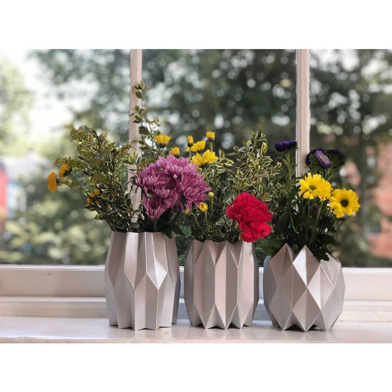Paper Vase Wraps - Set of 3 - AboutRuby.com