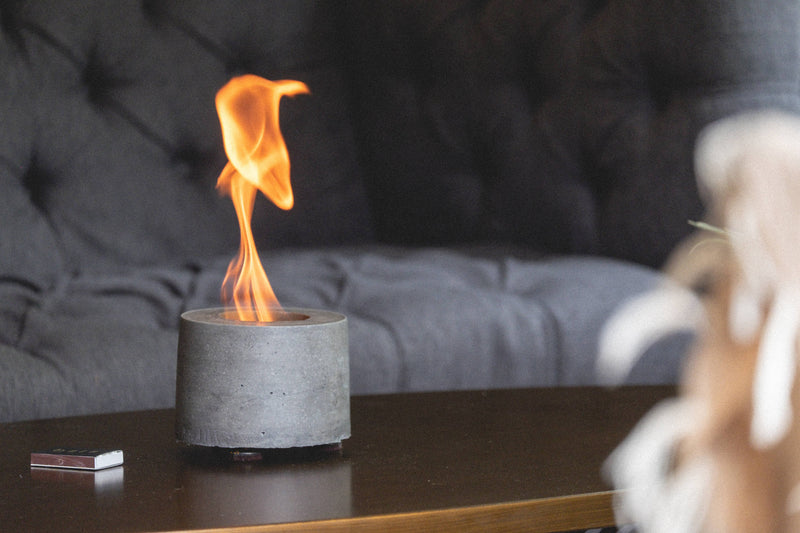 Rubbing Alcohol Personal Fireplace - AboutRuby.com