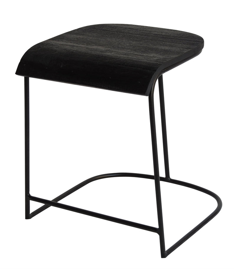 Mango Wood & Iron Chair - AboutRuby.com