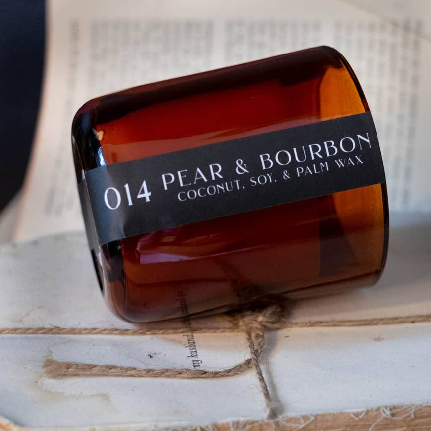014 Pear and Bourbon Candle - AboutRuby.com