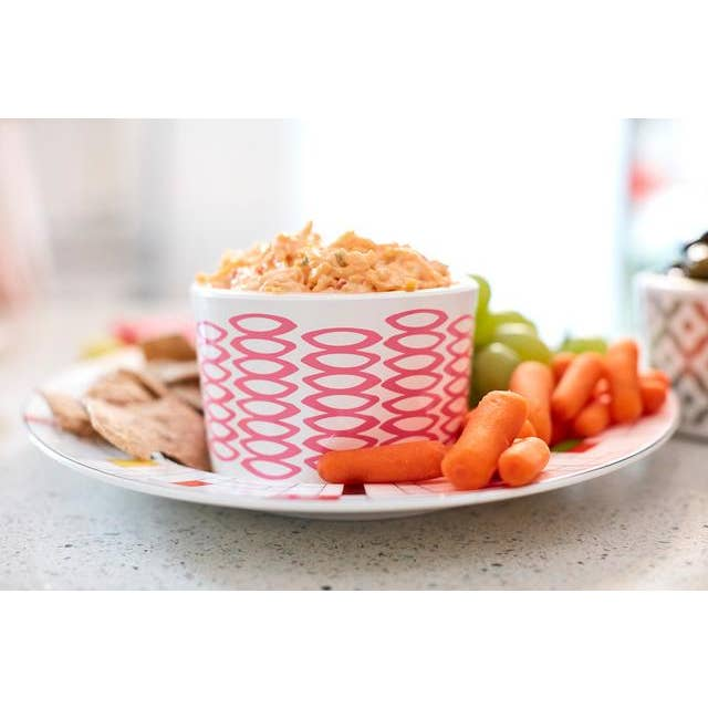 Pebbles Dip Bowl in Pink - AboutRuby.com