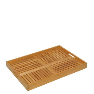 Handcrafted Teak Tray - AboutRuby.com