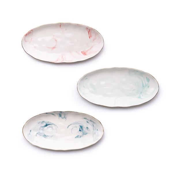 Marbled Serving Platters - Set of 3 - AboutRuby.com