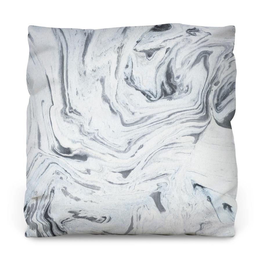 Traditional Marble Throw Pillow - AboutRuby.com