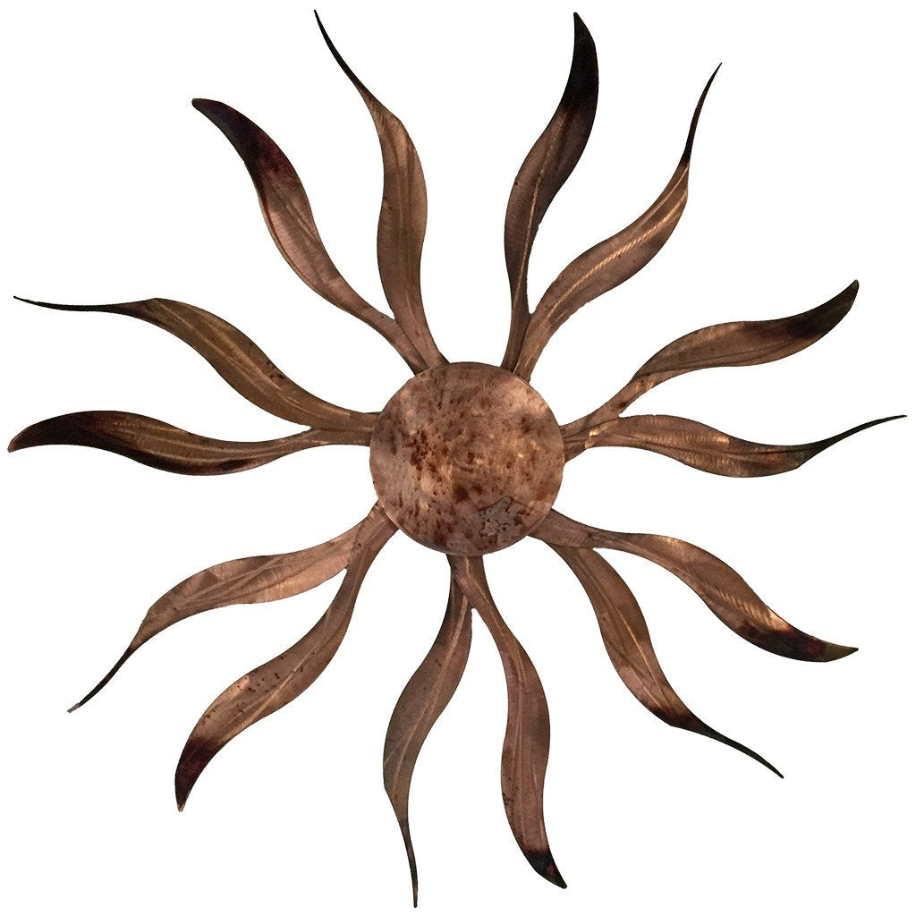 Copper Wall Art ~ Desert Sun - AboutRuby.com