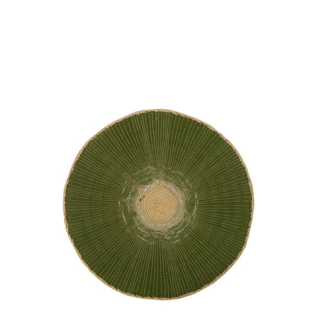 Green Round Placemat - 1 piece - AboutRuby.com