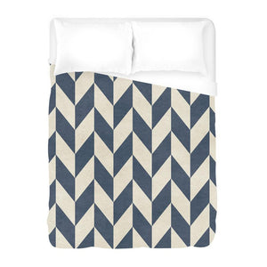 Sailor Chevron Duvet Cover - AboutRuby.com