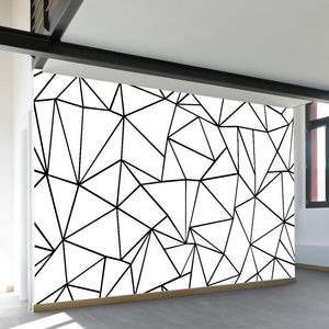 Ab Outlines Wall Mural - AboutRuby.com
