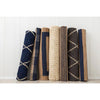 Navy Multi Stripe Jute Rug - AboutRuby.com