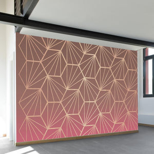 Natural Geometry II Wall Mural - AboutRuby.com