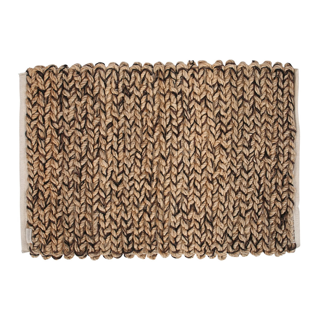 Jute and Cotton Busan Loop Rug - AboutRuby.com