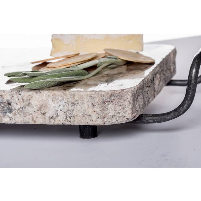 Large Granite Cheese Board with Handles - AboutRuby.com