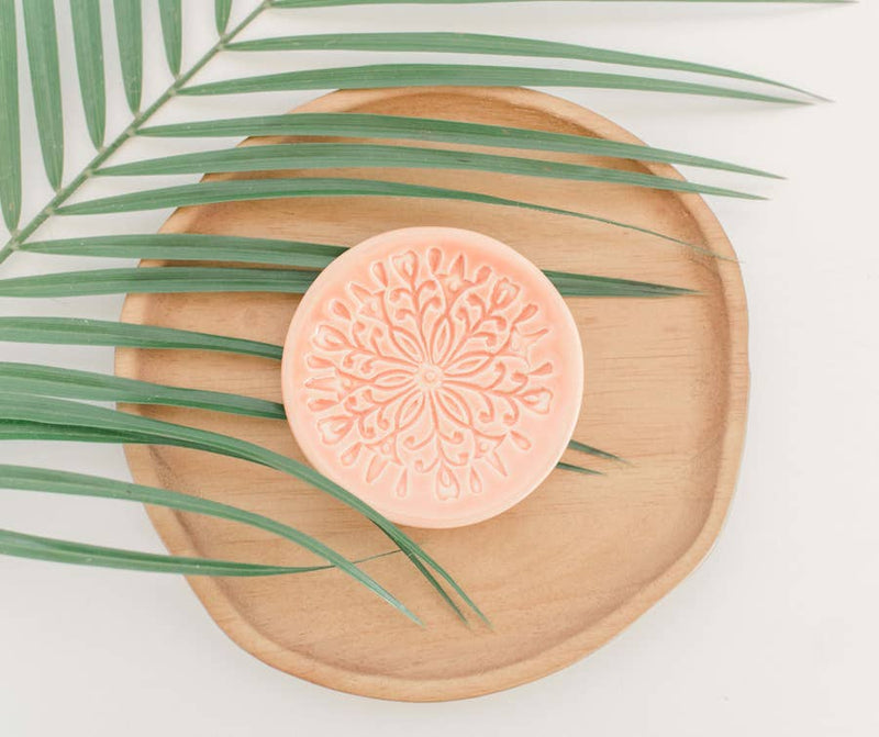 Ring Dish - Peach Scandi Design - AboutRuby.com
