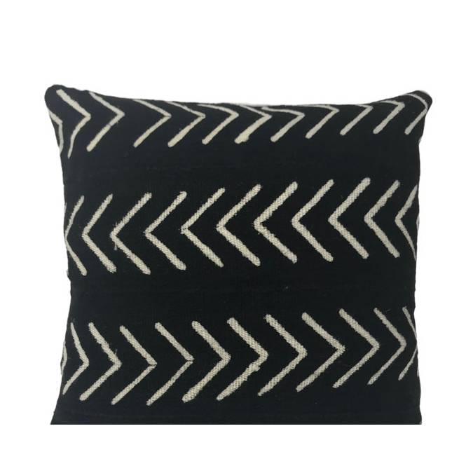 AMARI - African Mudcloth Pillow Cover - AboutRuby.com