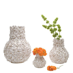 Ambition Vase in White - AboutRuby.com