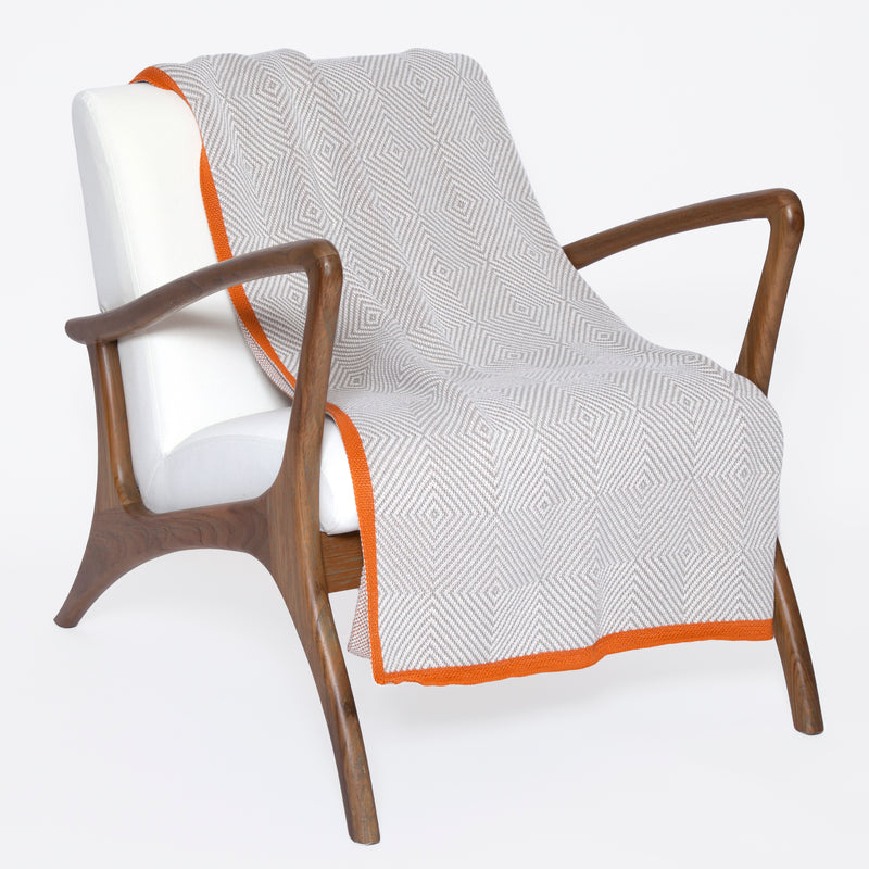 Poly-Woven Square Outdoor Eco Throw - AboutRuby.com