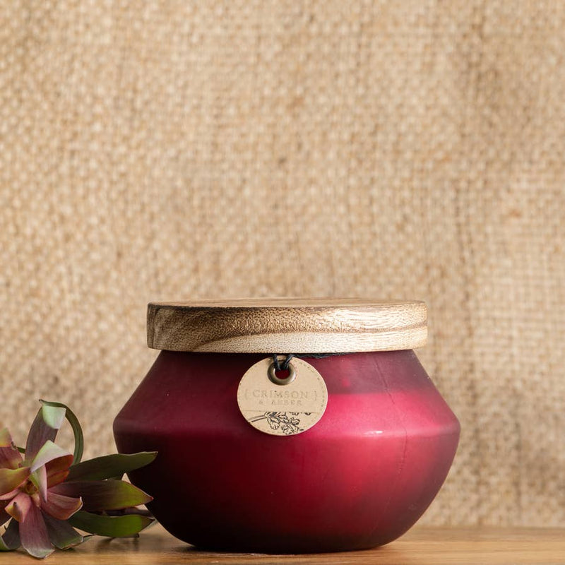 Crimson & Amber Candle - AboutRuby.com