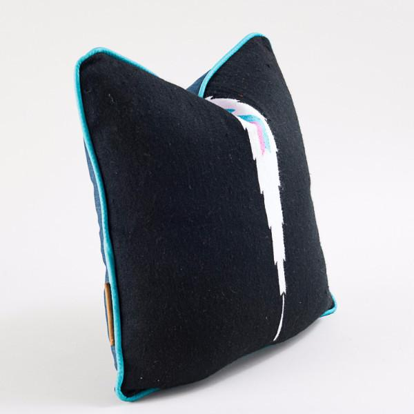 Modern Hacienda | Black's Beach Pillow - AboutRuby.com