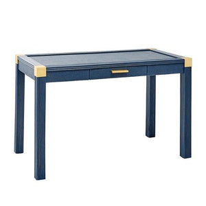 Tatum Desk in Navy Blue - AboutRuby.com