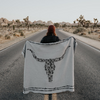Bull By The Horn Eco Throw Blanket - AboutRuby.com
