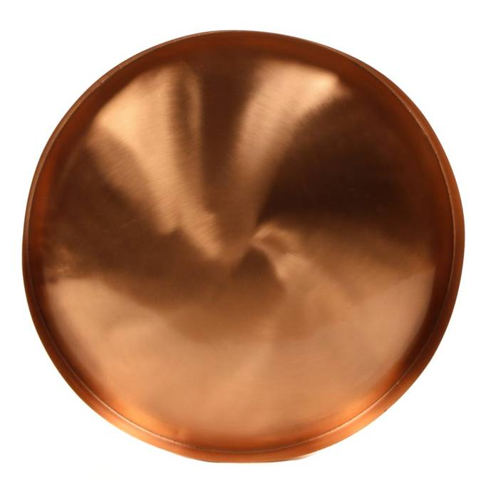 Brushed Copper Tray - AboutRuby.com