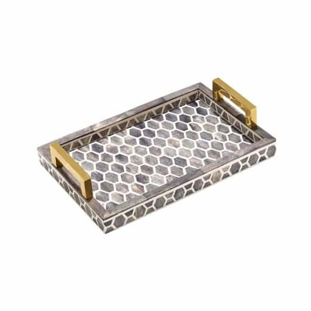 Gramercy Tray in Grey & White - AboutRuby.com
