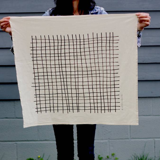 Plaid | Organic Cotton Tea Towel - AboutRuby.com