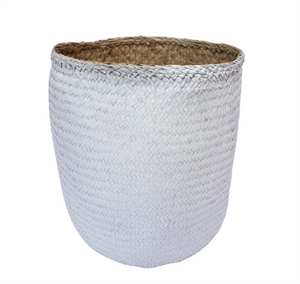 Designer Weave Basket in Seagrass - AboutRuby.com