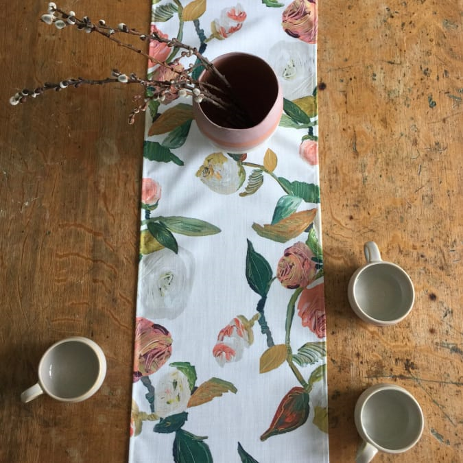 Chatham Rose Table Runner - AboutRuby.com