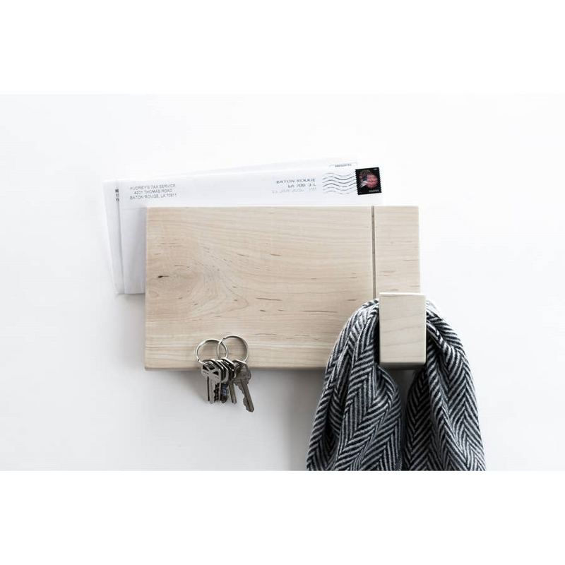 Wood Wall Rack - AboutRuby.com
