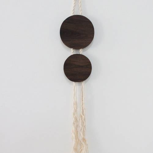 Walnut & Rope Ovo Wall Decor - AboutRuby.com